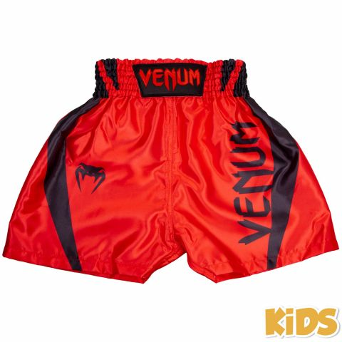 Venum Elite Kids Boxing Shorts - Red/Black