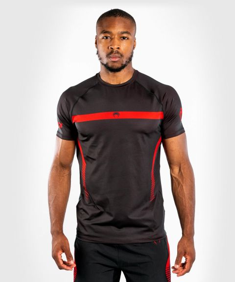 Venum NoGi 3.0 Dry Tech T-shirt - Black/Red
