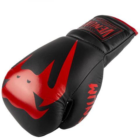 Боксерские перчатки Venum Giant 2.0 Pro-Со шнуровкой - Black/Red