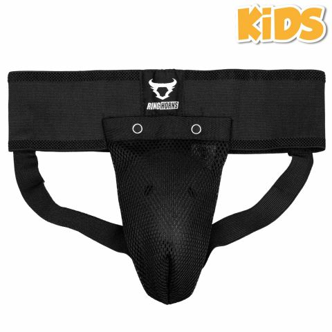 Ringhorns Charger Kids Groin Guard & Support - Black