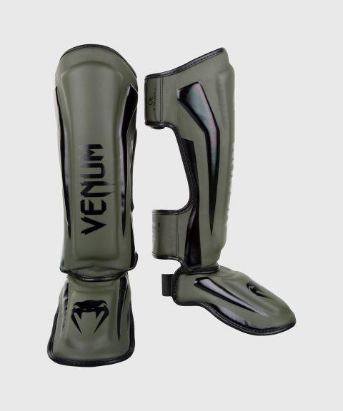 Venum Elite Standup Shin guards - Khaki/Black