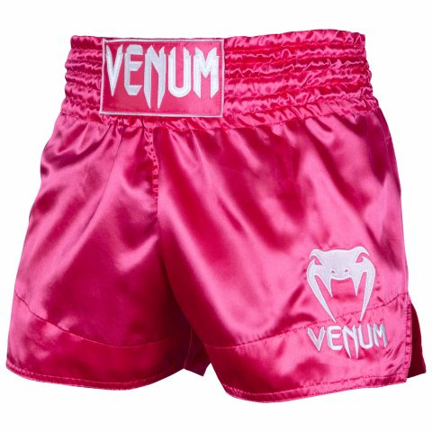 Venum Muay Thai Shorts Classic - Pink/White