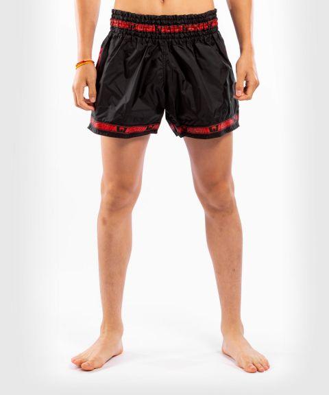 Venum Parachute Muay Thai Shorts - Black/Red