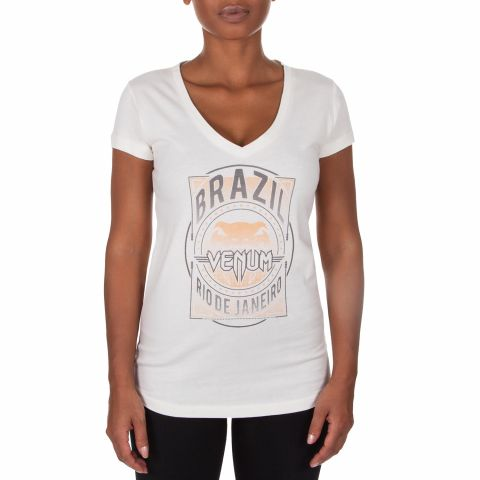 Venum Carioca Women T-Shirt  - Sand