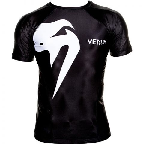 Venum Giant Rashguard - Black/White