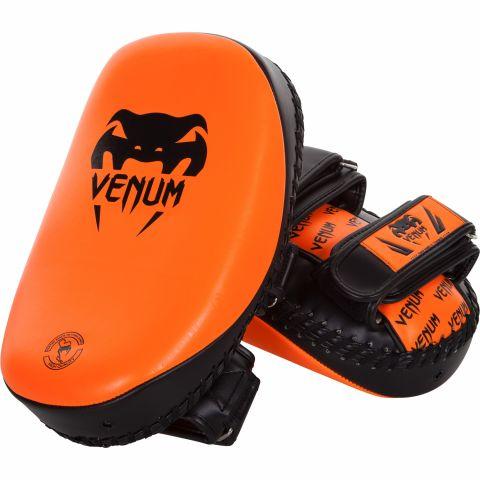 Venum Light Kick Pads (Pair) - Neo Orange