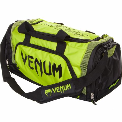 Venum Trainer Lite Sport Bag - Black/Neo Yellow