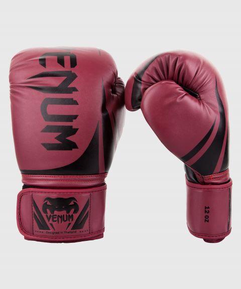 Venum Challenger 2.0 Boxing Gloves - Burgundy/Black
