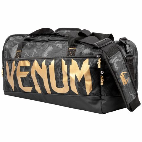 Venum Sparring Sport Bag - Dark camo/Gold