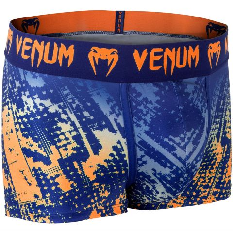 Venum Tropical Boxer Shorts - Blue/Orange