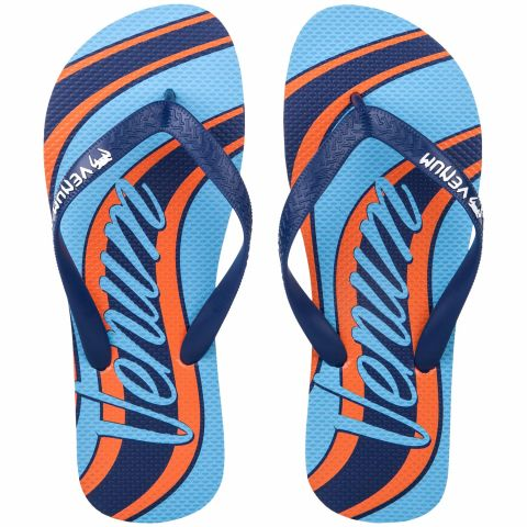 Venum Cutback Sandals - Blue/Orange