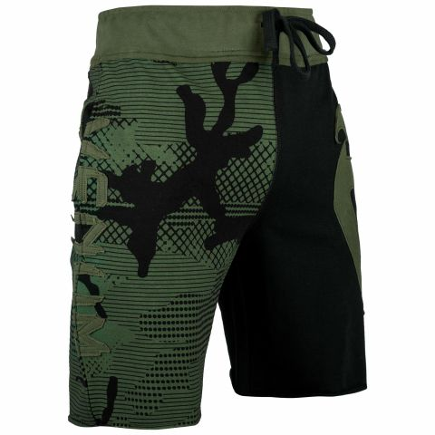 Venum Assault Cotton Shorts - Khaki/Black
