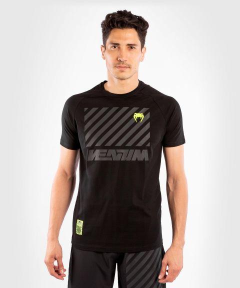베넘 스트라이프 티셔츠 - 검정