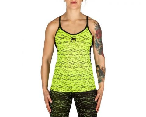 Venum Camoline Tank Top - Black/Neo Yellow
