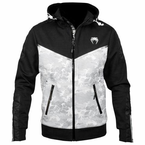 Venum Laser Evo Hoodie - White/Black