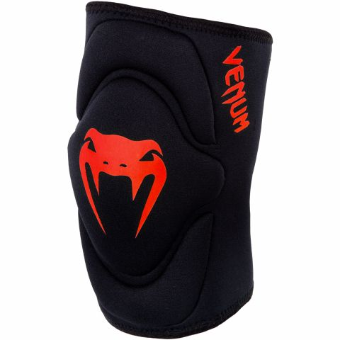 Venum Kontact Gel Knee Pad - Black/Red