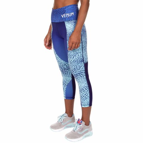 Venum Dune Cropped Leggings - Dark purple/Light latigo bay
