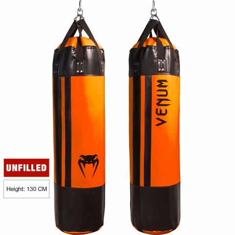 Venum Hurricane Punching Bag - 150 cm - Unfilled - Black/Neo Orange