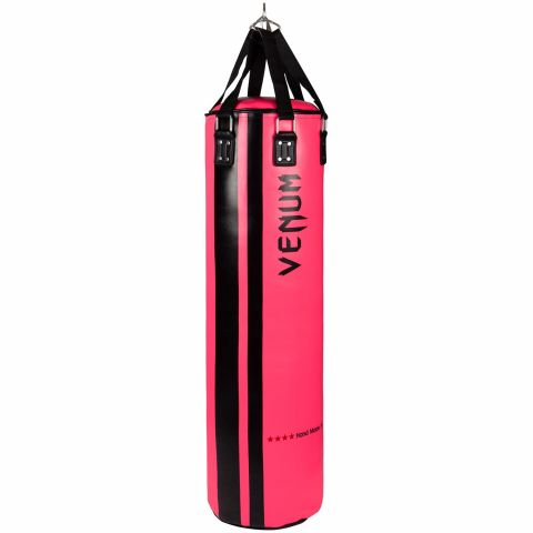 Venum Hurricane Punching Bag - 170 cm - Unfilled - Black/Neo Pink