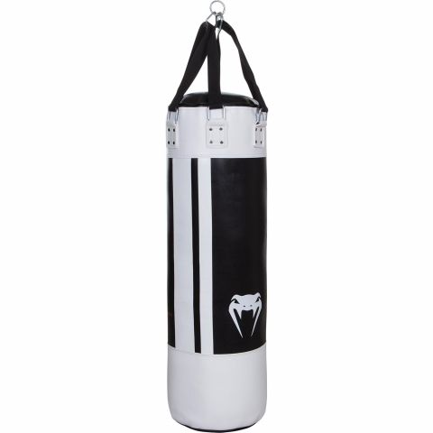 Venum Hurricane Punching Bag - Black/White - New PU - Unfilled - 150 cm