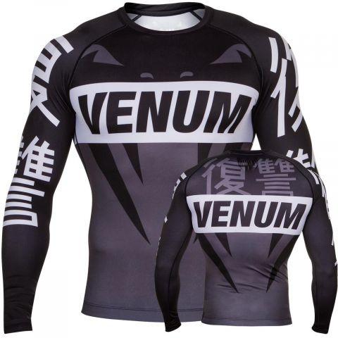 Venum Revenge Rashguard - Grey