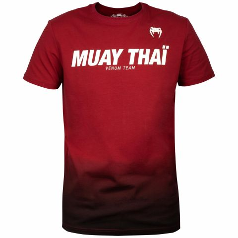 Venum Muay Thai VT T-shirt - Red Wine/Black