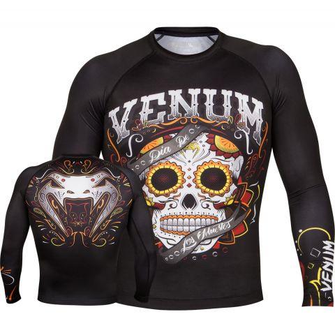 Venum Santa Muerte 2.0 Rashguard - Long sleeves