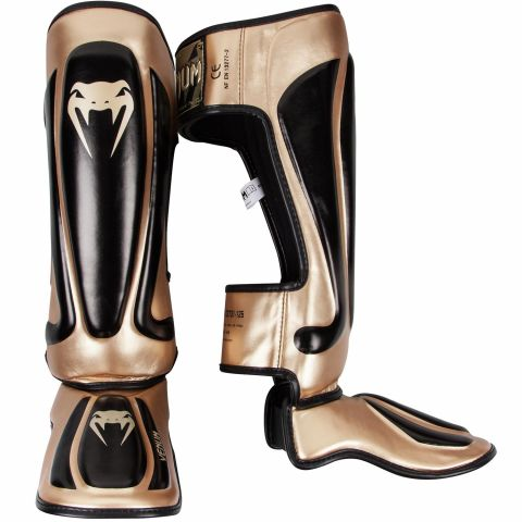 Venum Predator Standup Shin Guards - Black/Gold