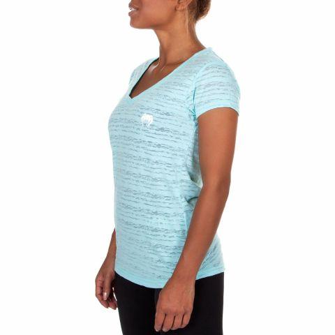Venum Essential V Neck T-Shirt - Light Latigo Bay