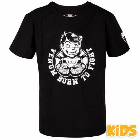 Venum Born to Fight T-shirt - Black/White