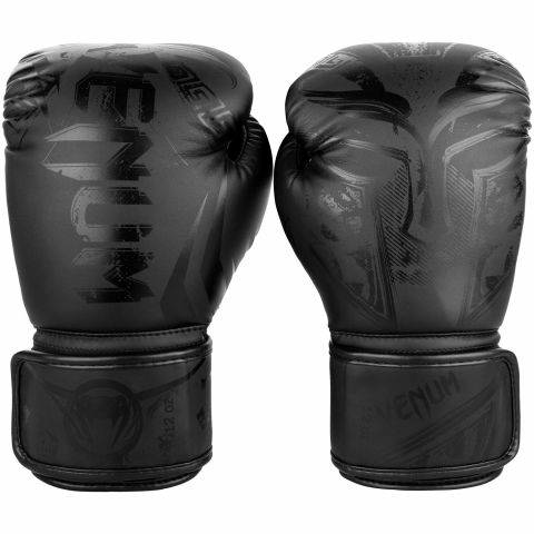 Venum Gladiator 3.0 Boxing Gloves - Matte Black