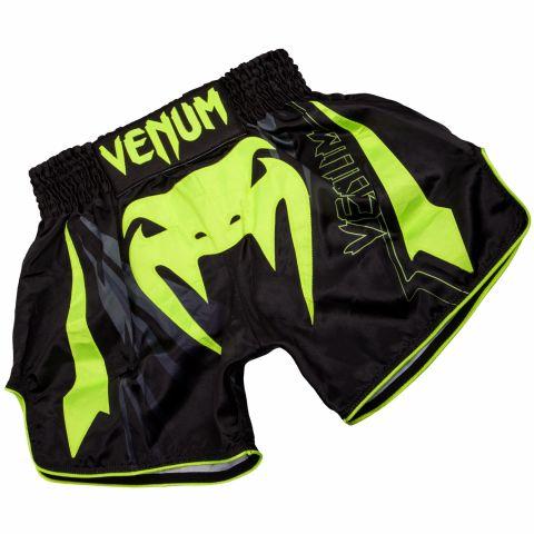 Venum Sharp 3.0 Muay Thai Shorts - Black/Neo Yellow