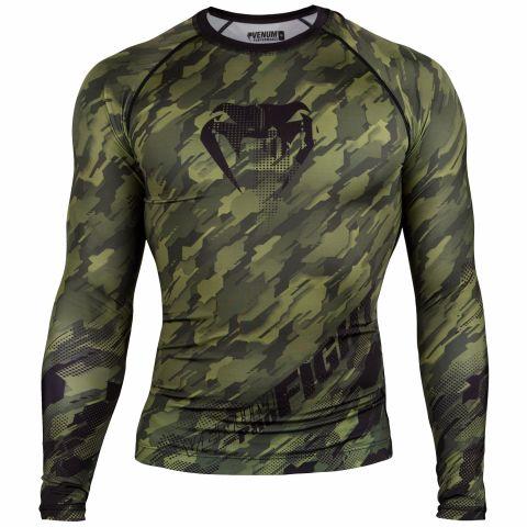 Venum Tecmo Rashguard - Long Sleeves - Khaki