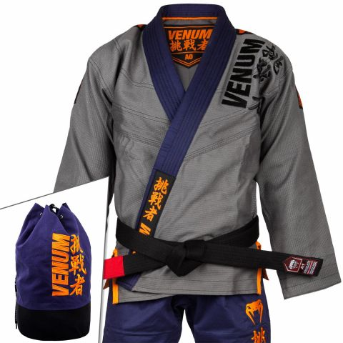 Venum Challenger 4.0 BJJ Gi - (Bag Included) - Navy Blue