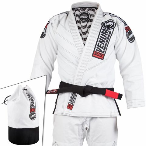 Venum Elite Light 2.0 BJJ Gi - (Bag Included) - White