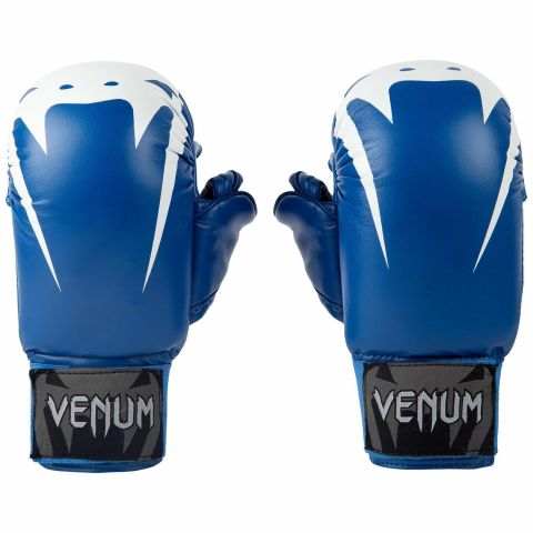 Venum Giant Karate Mitts - With Thumbs  - Blue