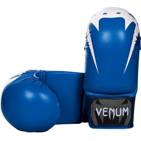Venum Giant Karate Mitts - Without Thumbs - Blue
