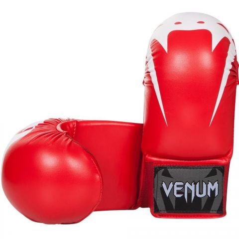 Venum Giant Karate Mitts - Without Thumbs - Red