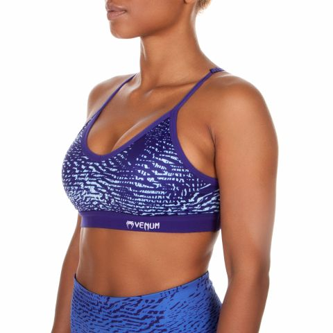 Venum Dune Sports Bra - Dark purple/Light latigo bay
