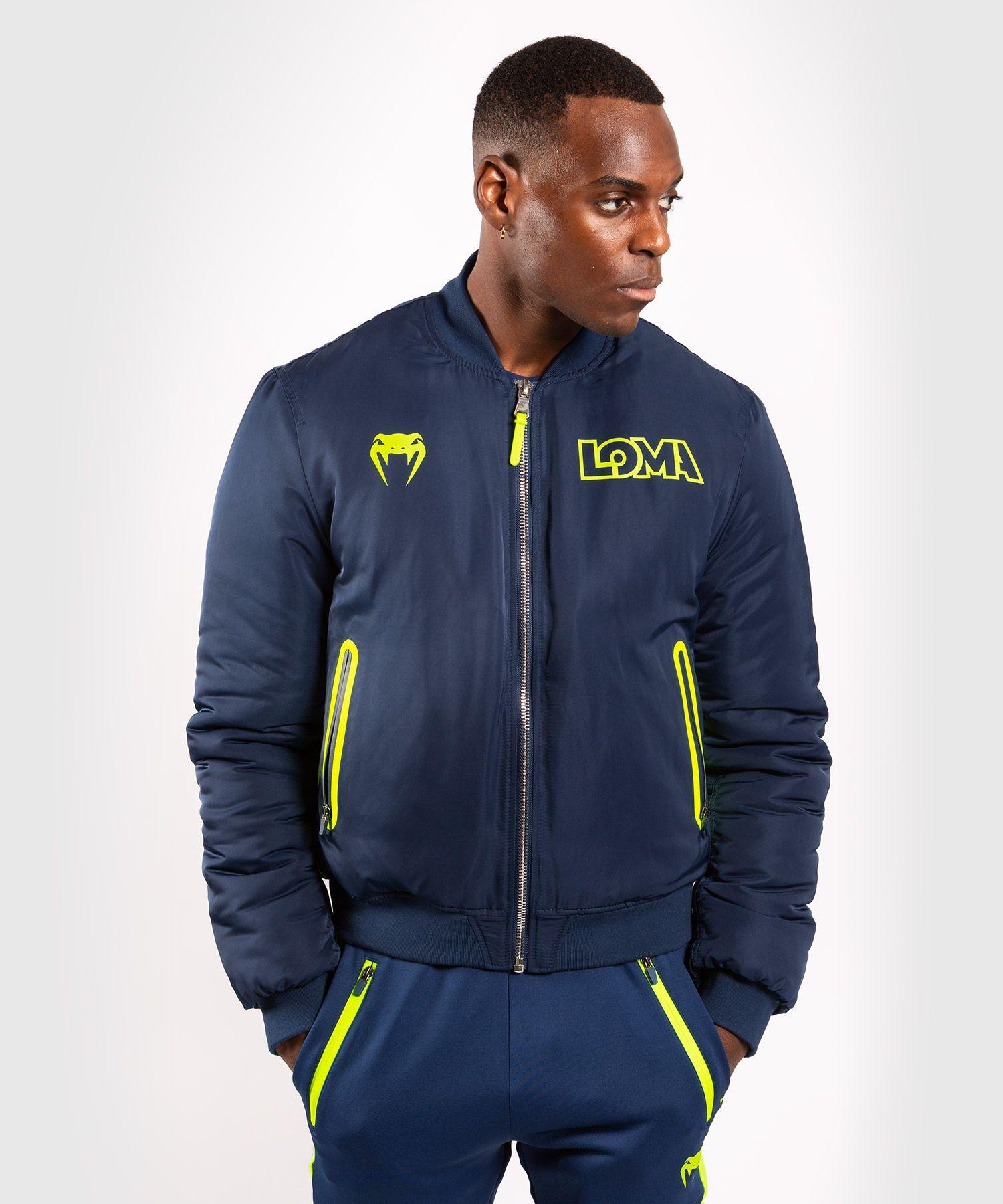 Куртка-бомбер Venum Origins  Loma Edition - Синий/Желтый