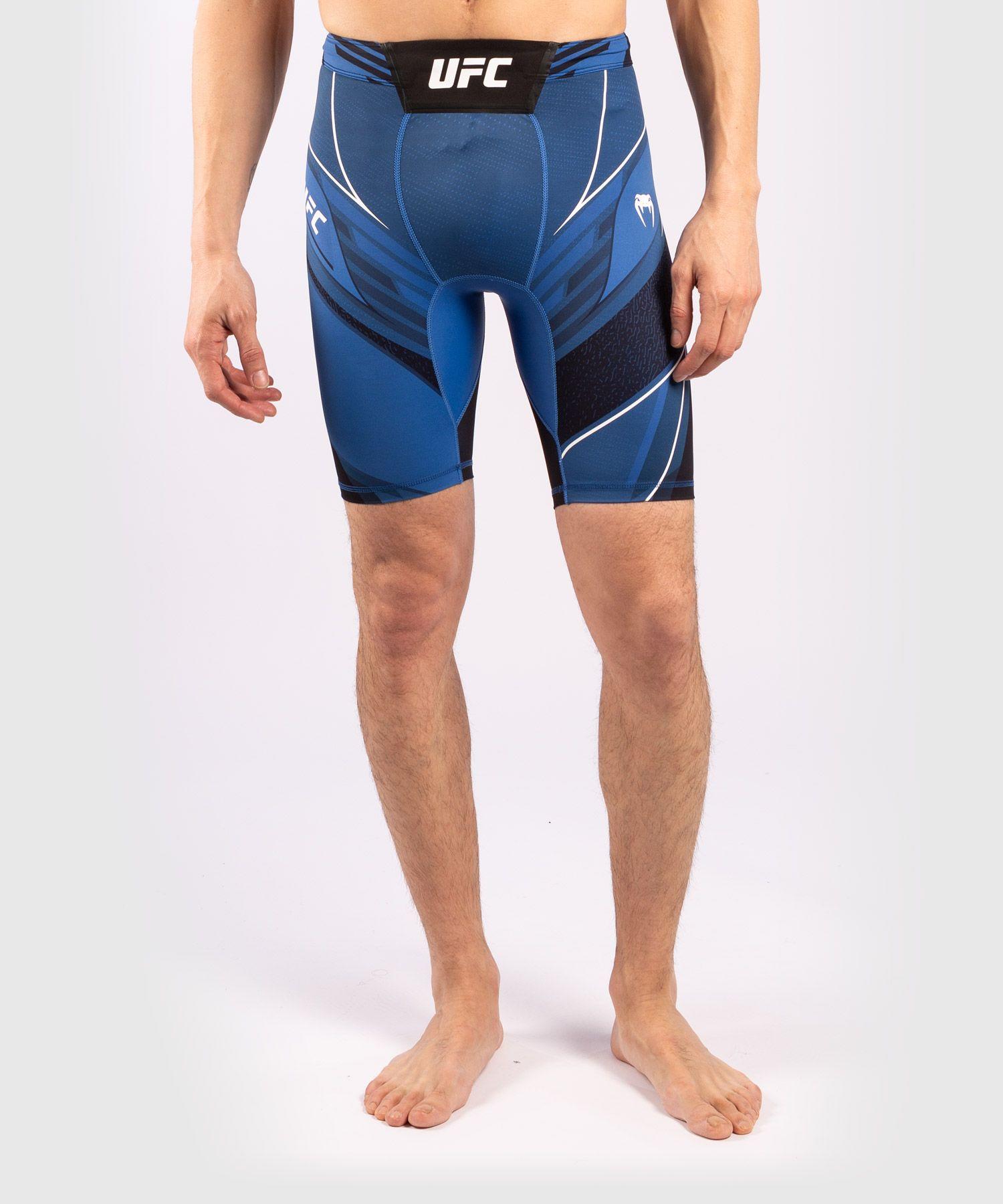 UFC Venum Authentic Fight Night Men's Vale Tudo Shorts - Long Fit - Blue
