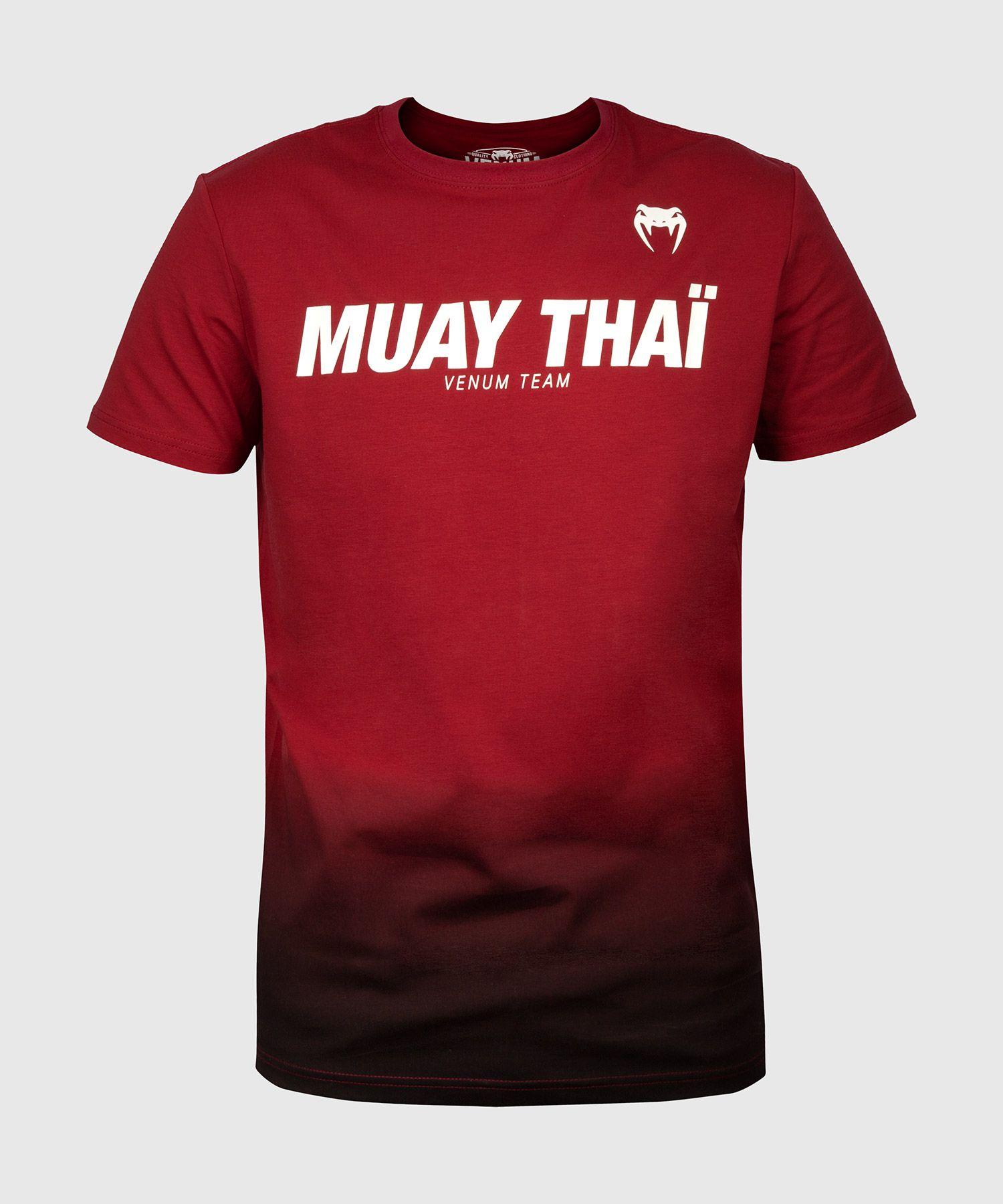Venum Muay Thai VT T-shirt - Red Wine/Black