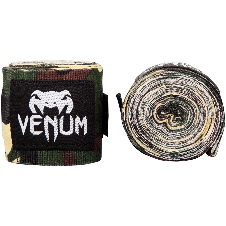 Боксерские бинты Venum Kontact - Лесной камуфляж