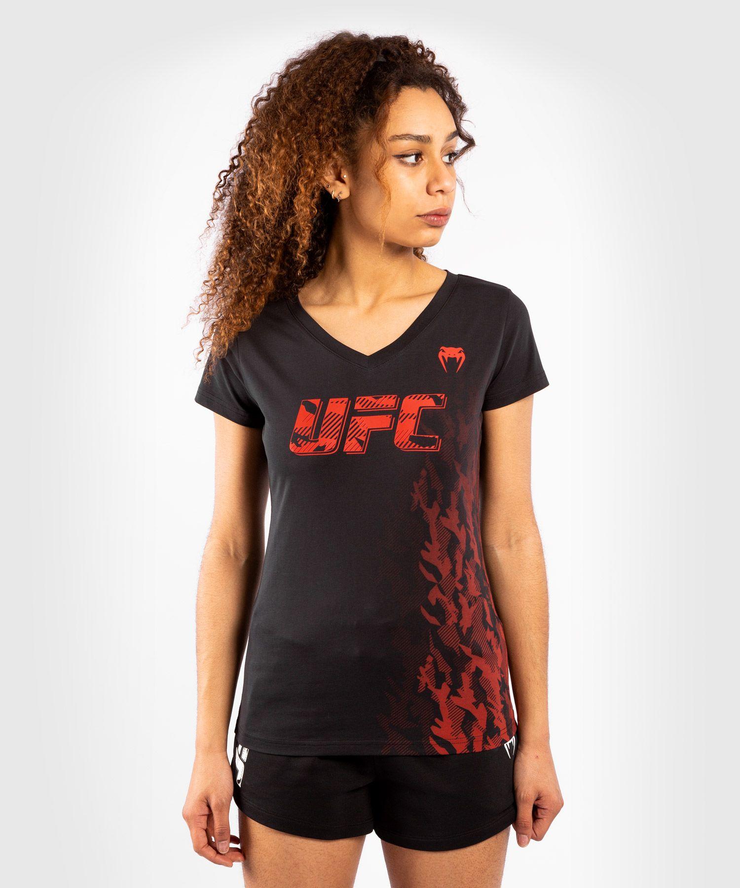 UFC Venum Authentic Fight Week Women's Short Sleeve T-shirt - Black