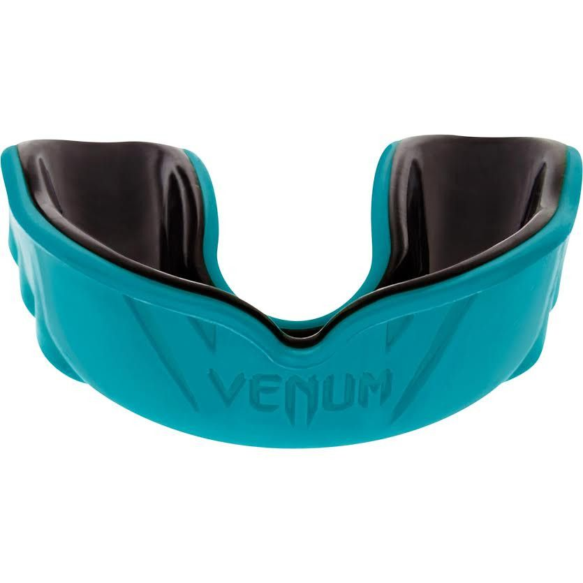 Venum Challenger Mouthguard - Cyan/Black