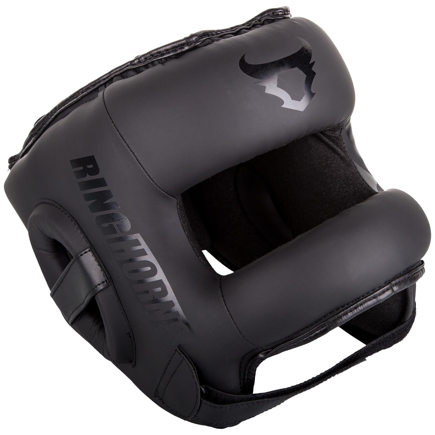 Ringhorns Nitro Headgear-Black/Black