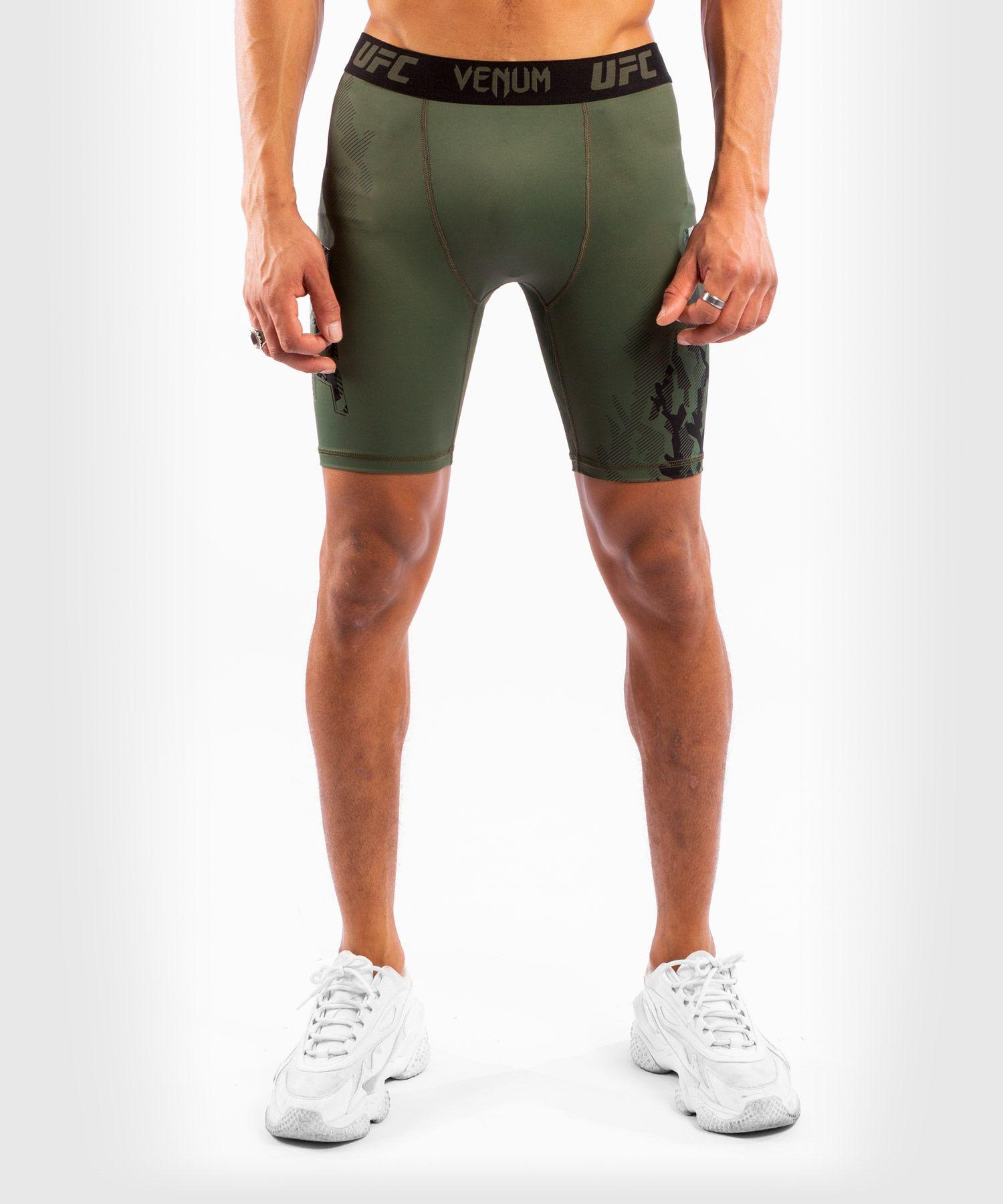 UFC Venum Authentic Fight Week Men's Performance Vale Tudo Shorts - Khaki