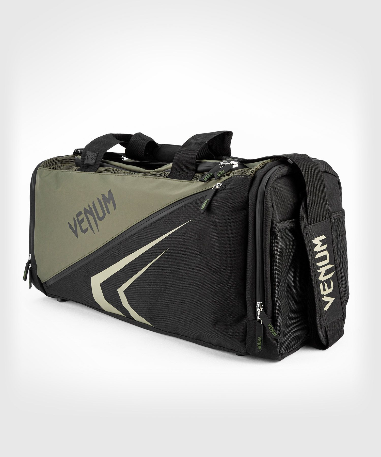 Спортивная сумка Venum Trainer Lite Evo - Хаки/Черный