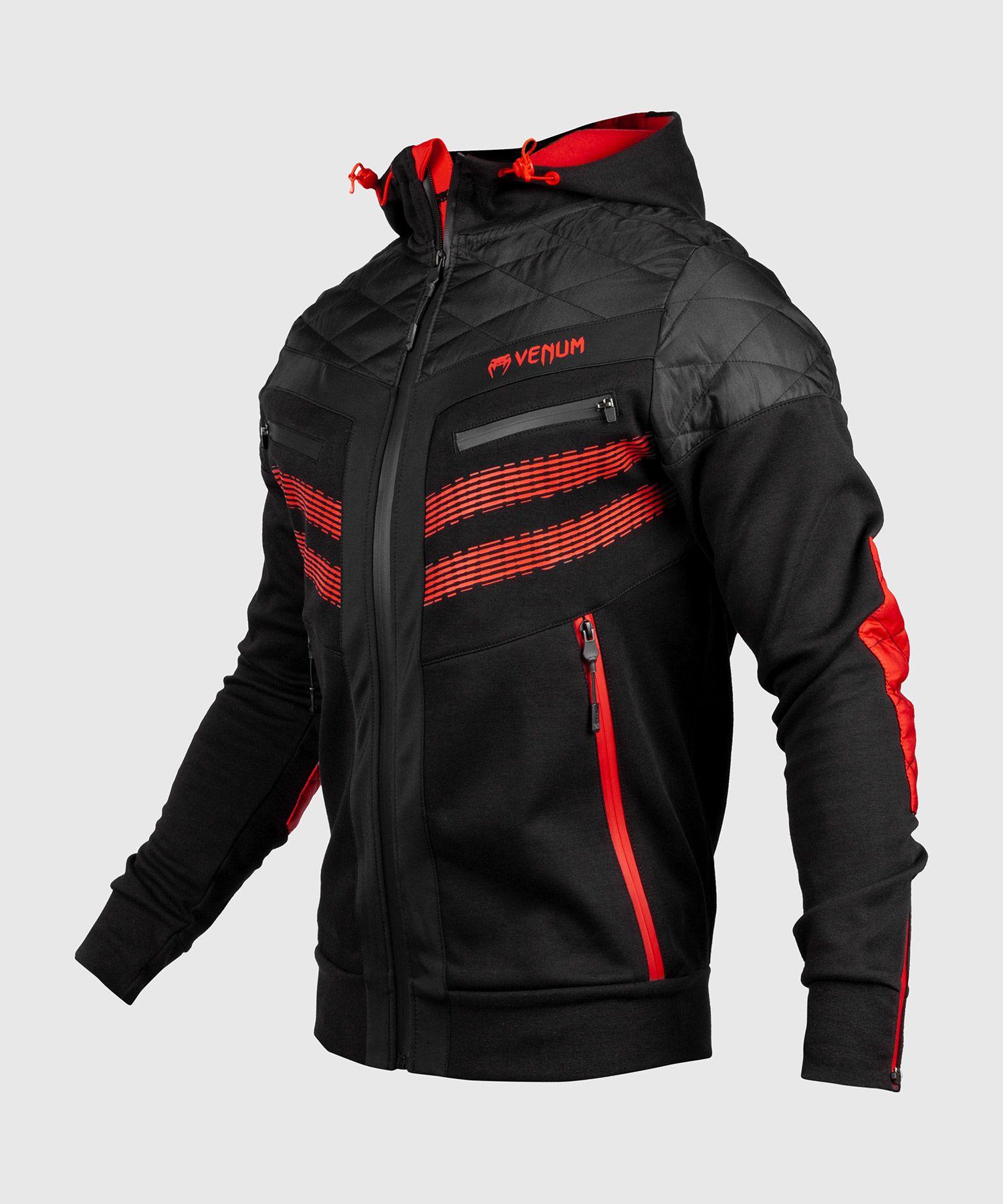 SIZES S Venum Hoodie Laser 2.0 Black//Red for Sports And Freizeit Mma,BJJ XXL