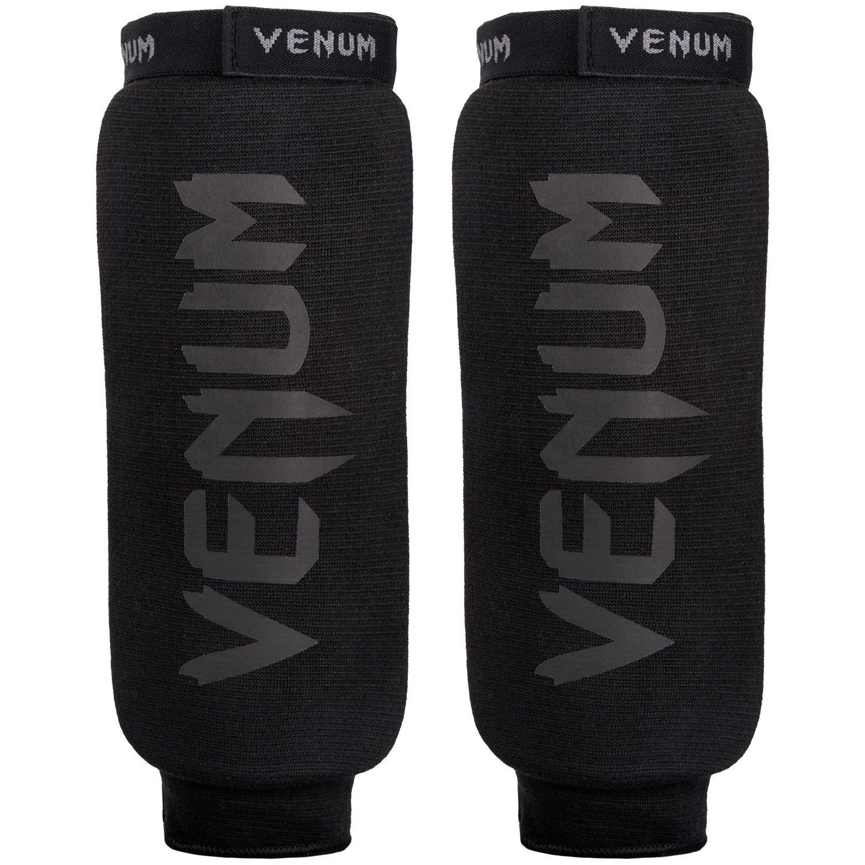 Venum Shin Guards Kontact - Black/Black